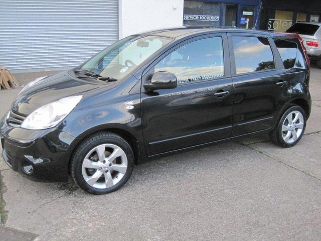 NISSAN NOTE 1.5 DCI black