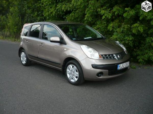 NISSAN NOTE 1.5 DCI brown