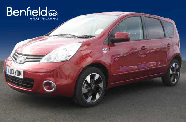 NISSAN NOTE 1.5 DCI red