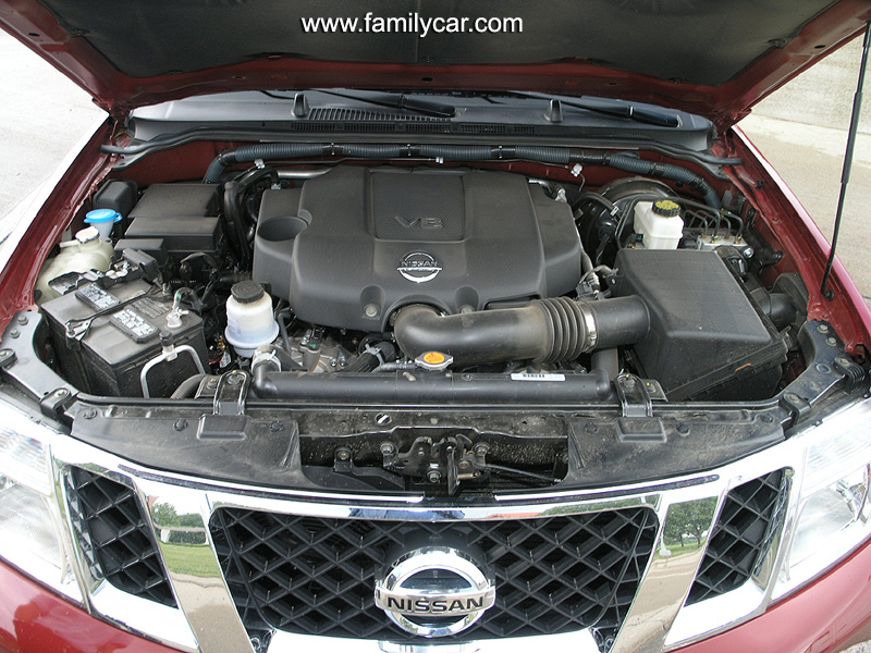 NISSAN PATHFINDER engine