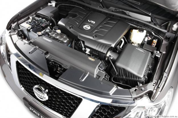 NISSAN PATROL engine