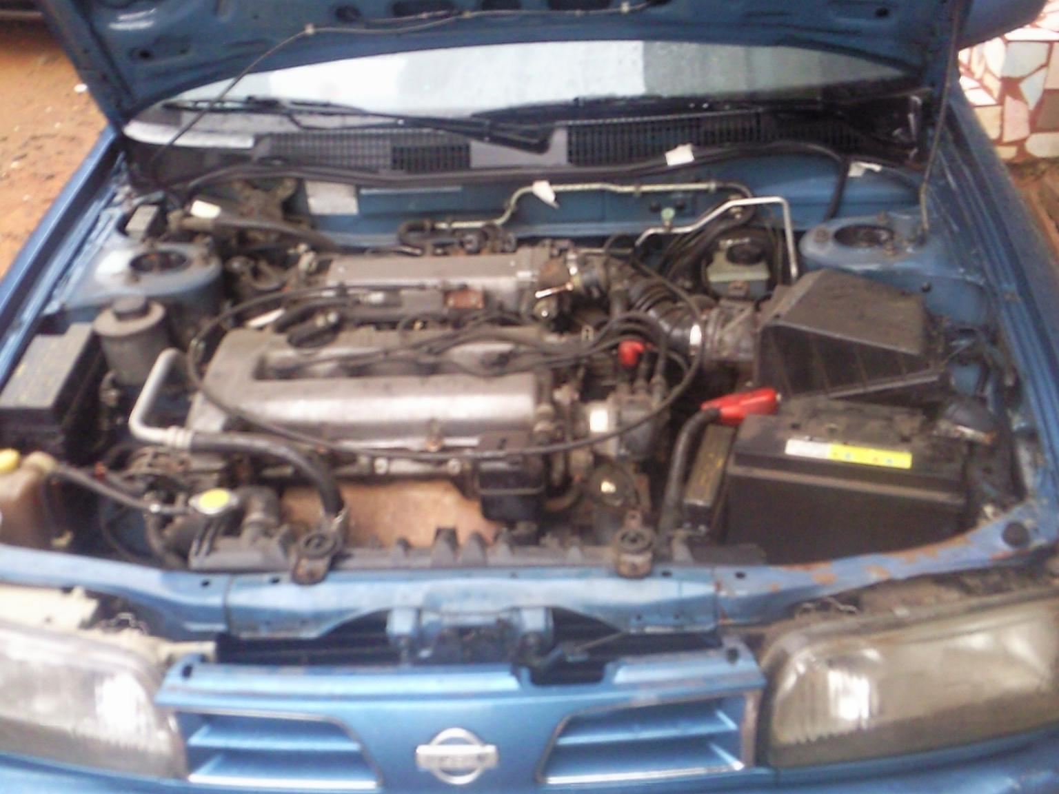 NISSAN PRIMERA engine