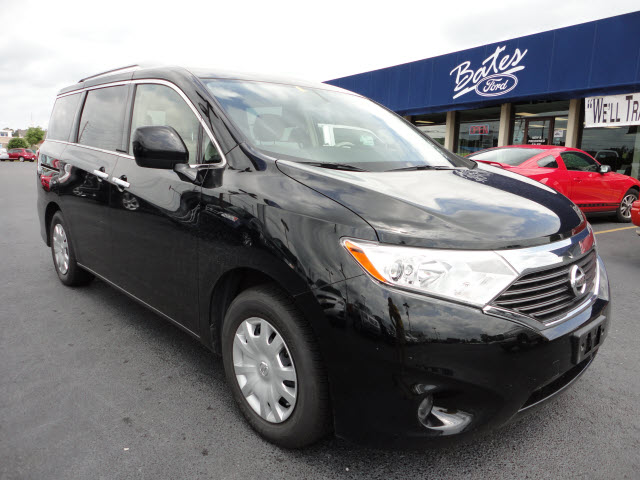 NISSAN QUEST S black