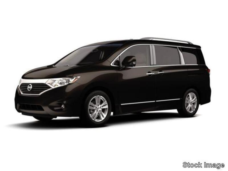 NISSAN QUEST S brown