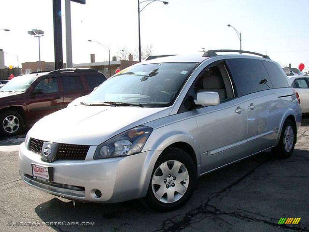 NISSAN QUEST S silver