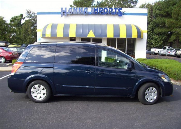 NISSAN QUEST blue
