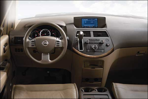NISSAN QUEST interior