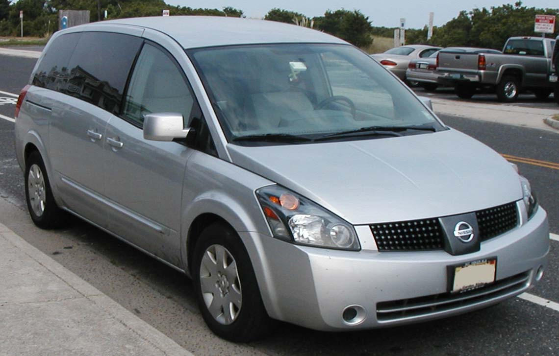 NISSAN QUEST - Review and photos