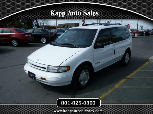 NISSAN QUEST white