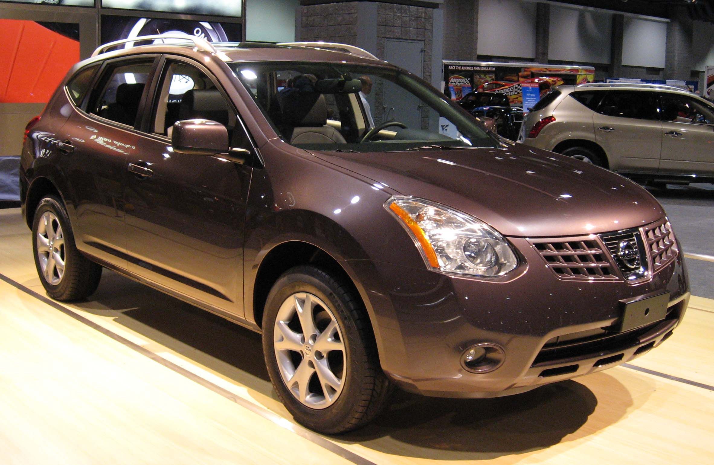 nissan rogue review and photos. Black Bedroom Furniture Sets. Home Design Ideas