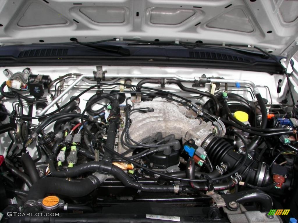 Nissan xterra 4x4 engine