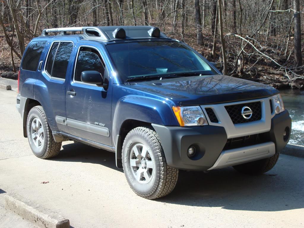 Nissan xterra review and photos nissan xterra blue vanachro Choice Image