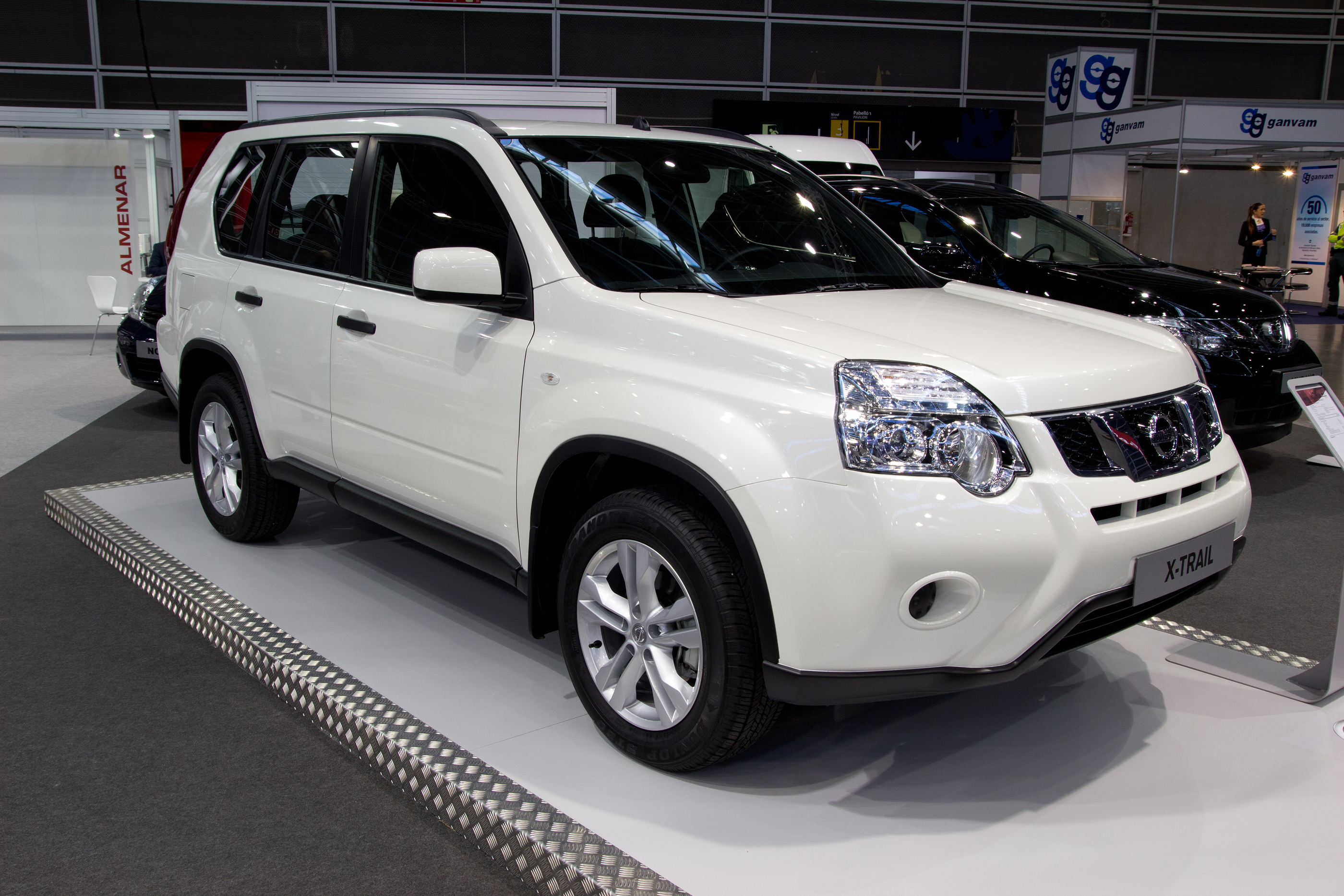 VALENCIA, SPAIN - DECEMBER 5: A 2012 NISSAN X-TRAIL AT THE 2011 VALENCIA CAR SHOW ON DECEMBER 5, 2011 IN VALENCIA, SPAIN. BY ROBWILSON