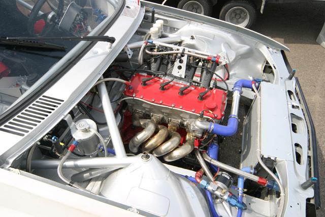 OPEL ASCONA engine