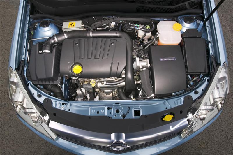 OPEL ASTRA GTC engine