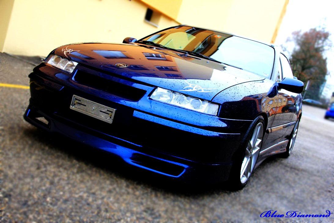 OPEL CALIBRA blue