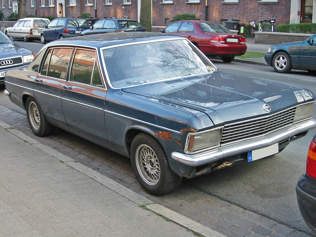 OPEL DIPLOMAT E engine