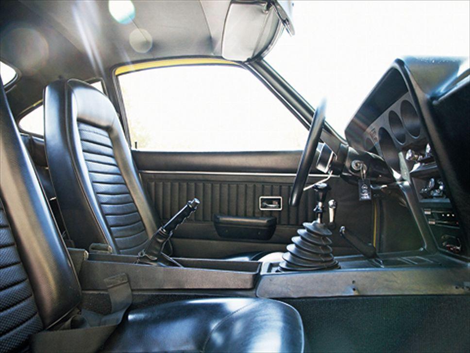 OPEL GT interior