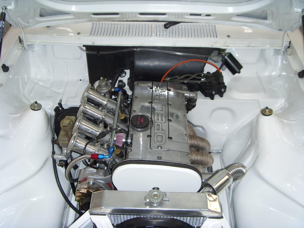 OPEL KADETT engine