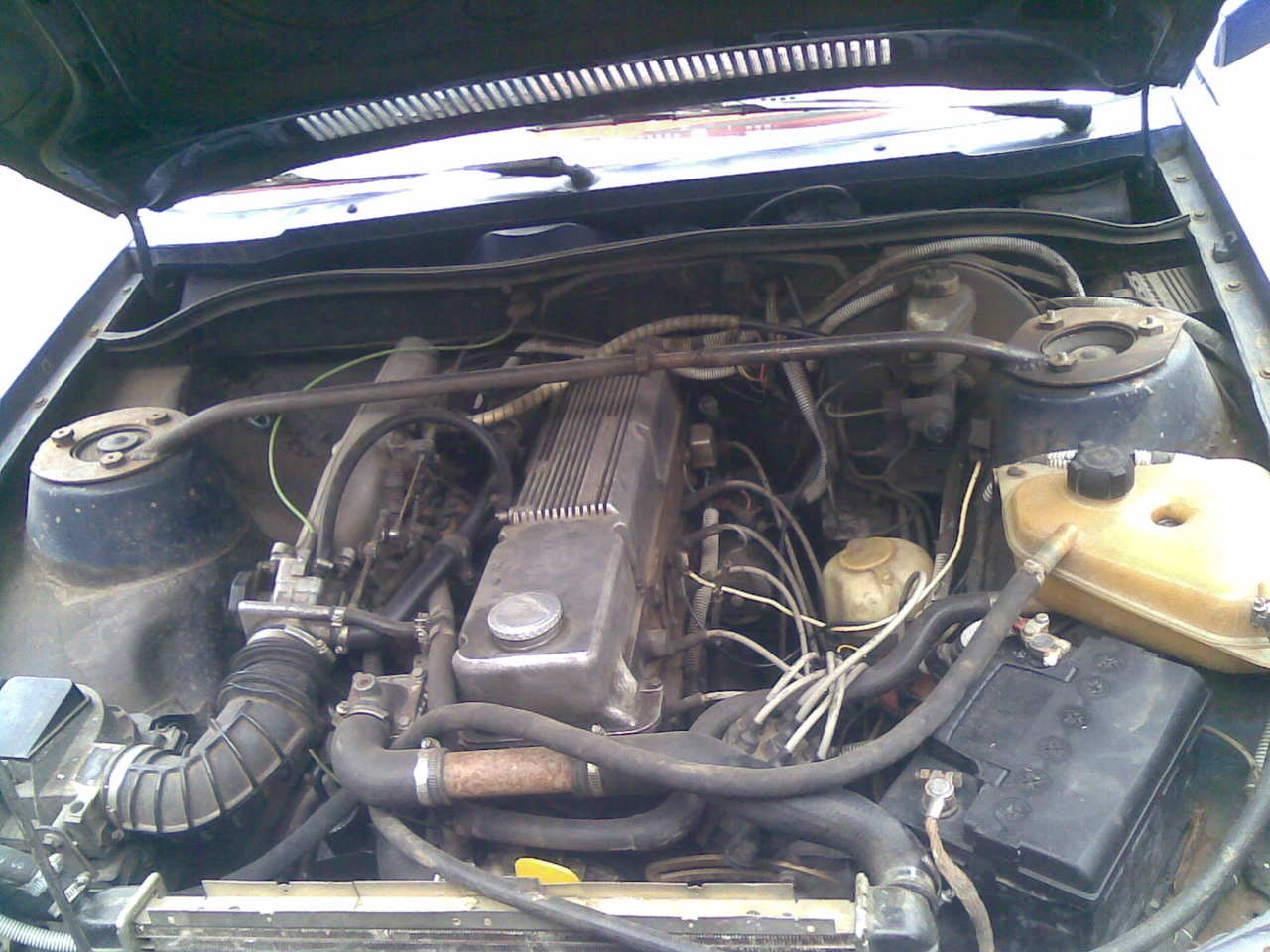 OPEL SENATOR engine