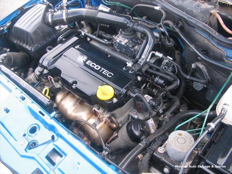 OPEL TIGRA engine