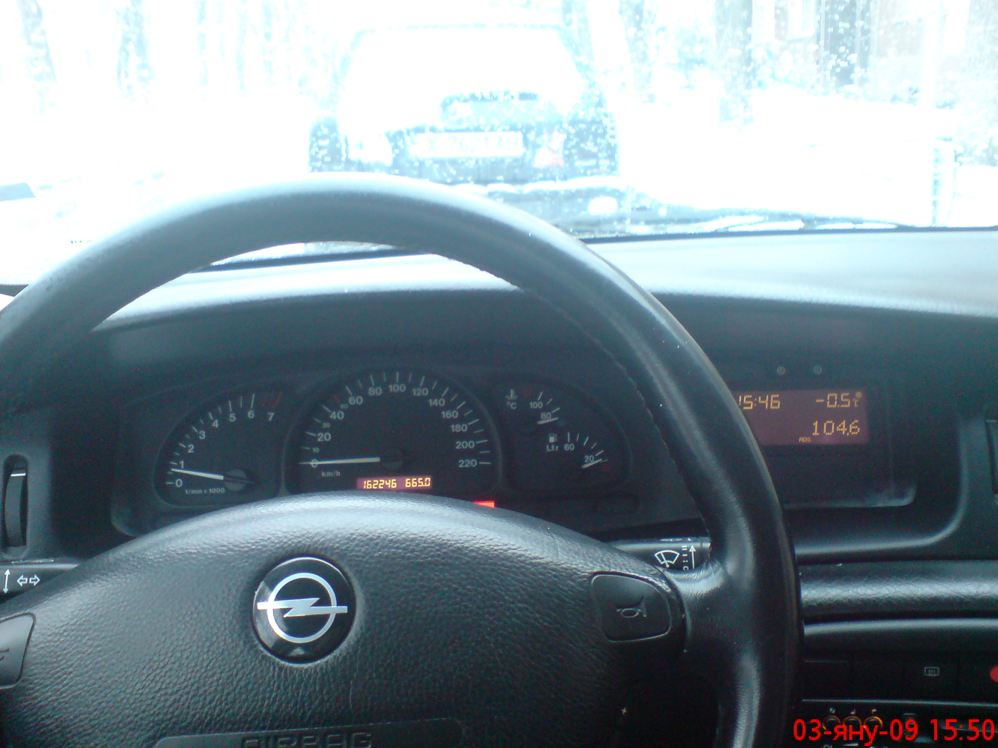 OPEL VECTRA 1.6 interior