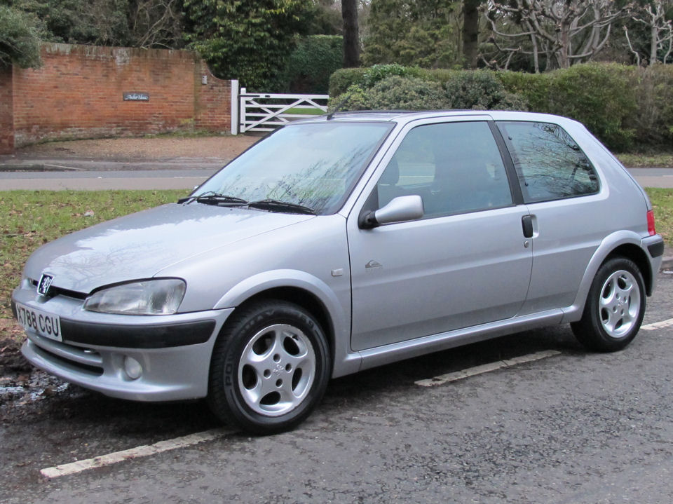 PEUGEOT 106 1.0 silver