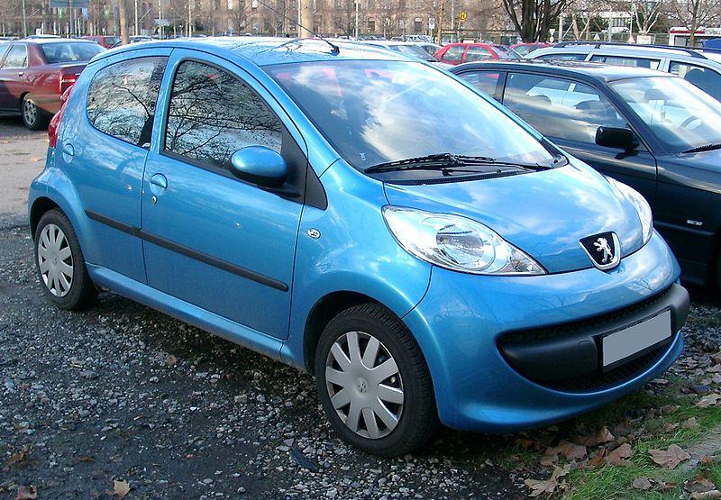 PEUGEOT 107 blue