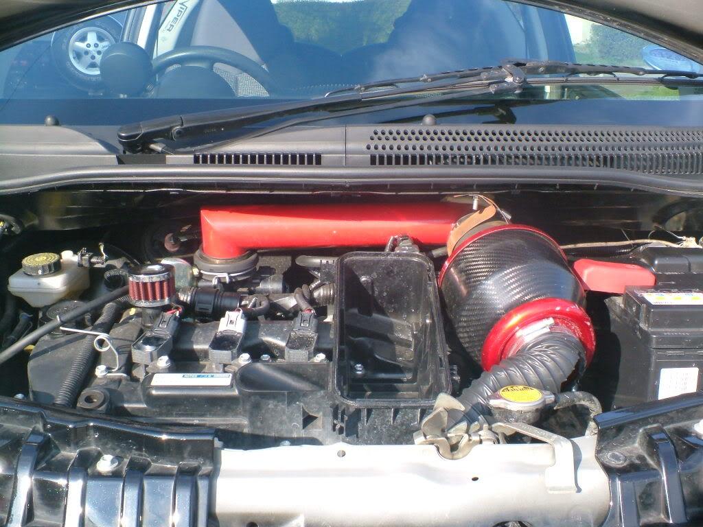 PEUGEOT 107 engine