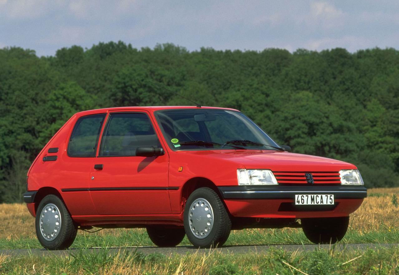 PEUGEOT 205 - Review and photos