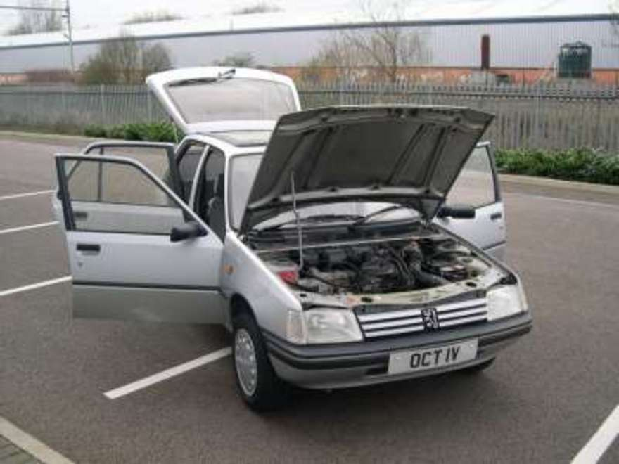 PEUGEOT 205 silver