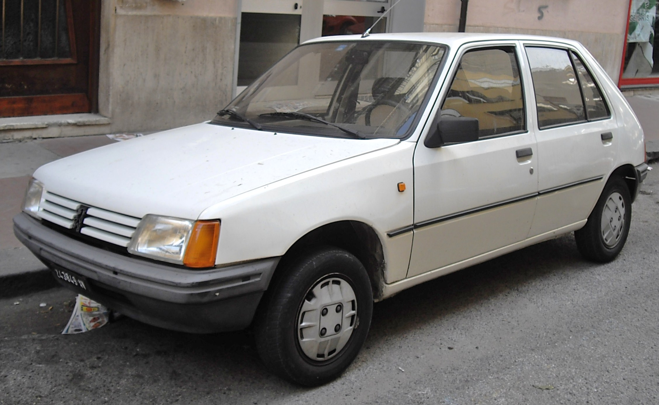 Peugeot 205 history, photos on Better Parts LTD