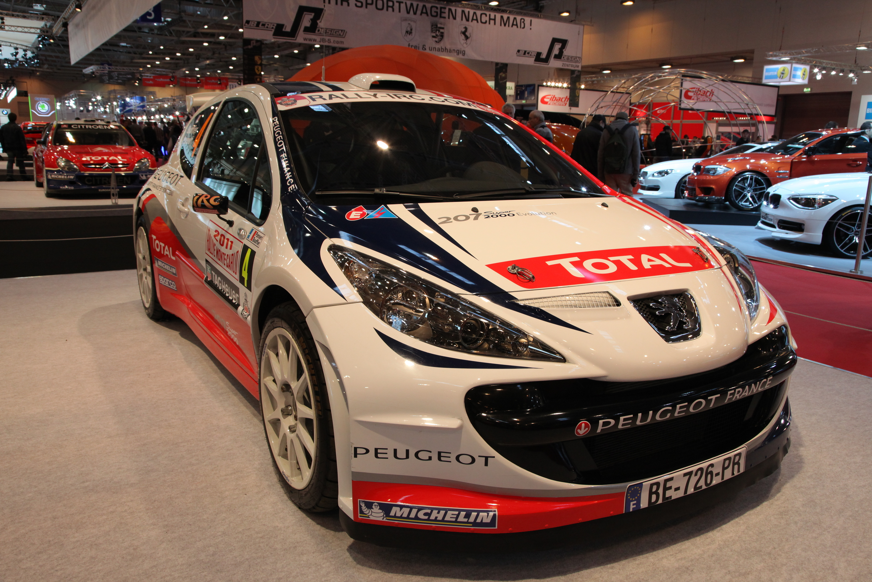 ESSEN - NOV 29: PEUGEOT 207 SUPER 2000 BY P.LANGE