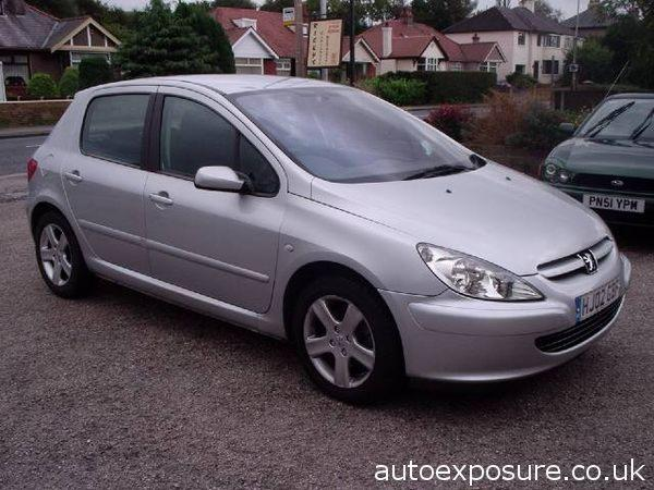 PEUGEOT 307 silver