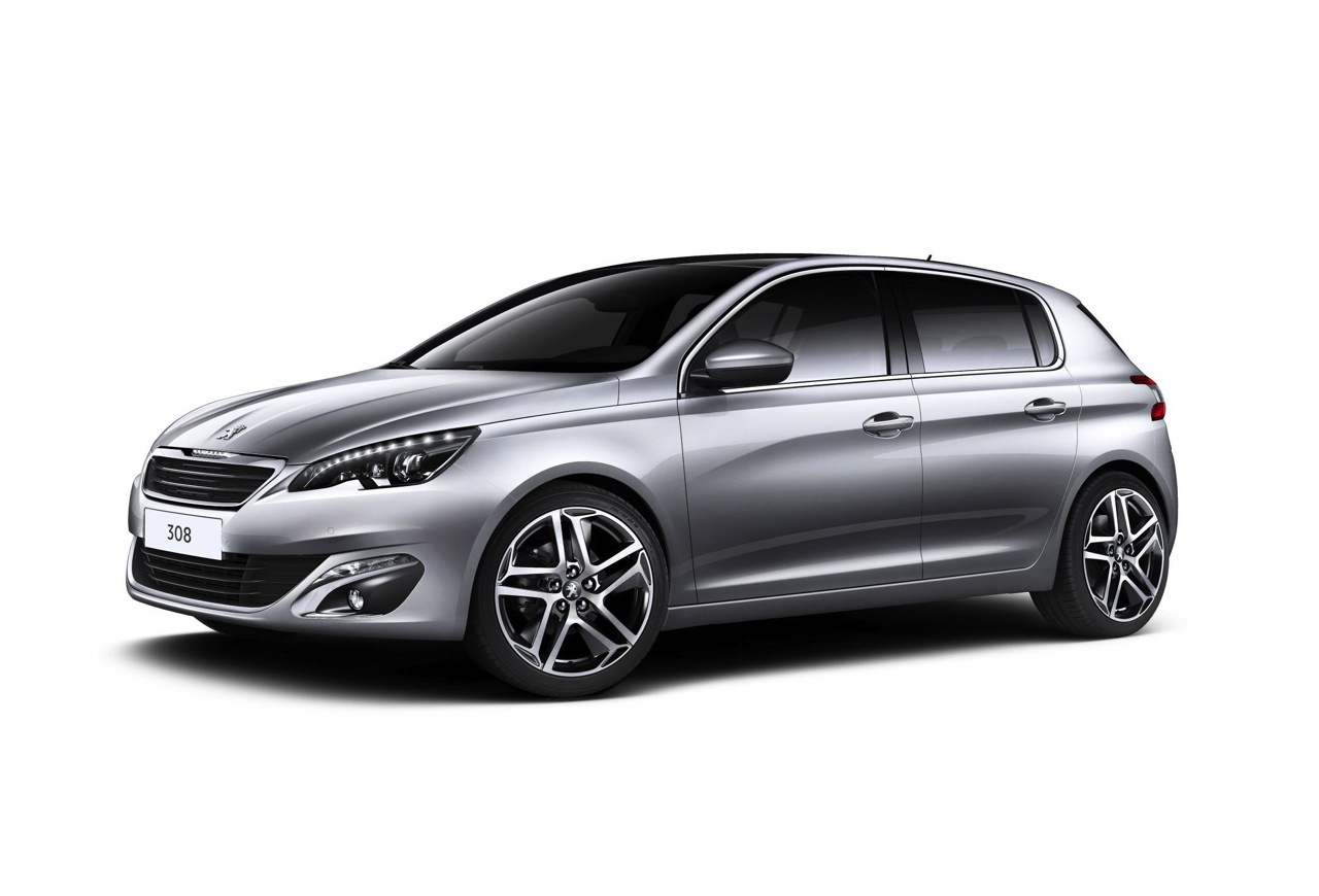 PEUGEOT 308 silver