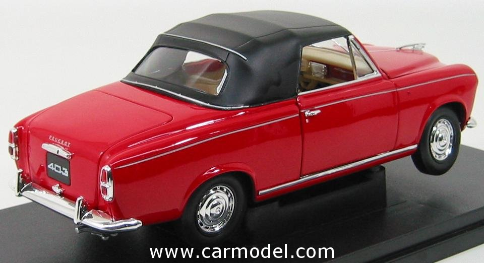 PEUGEOT 403 red