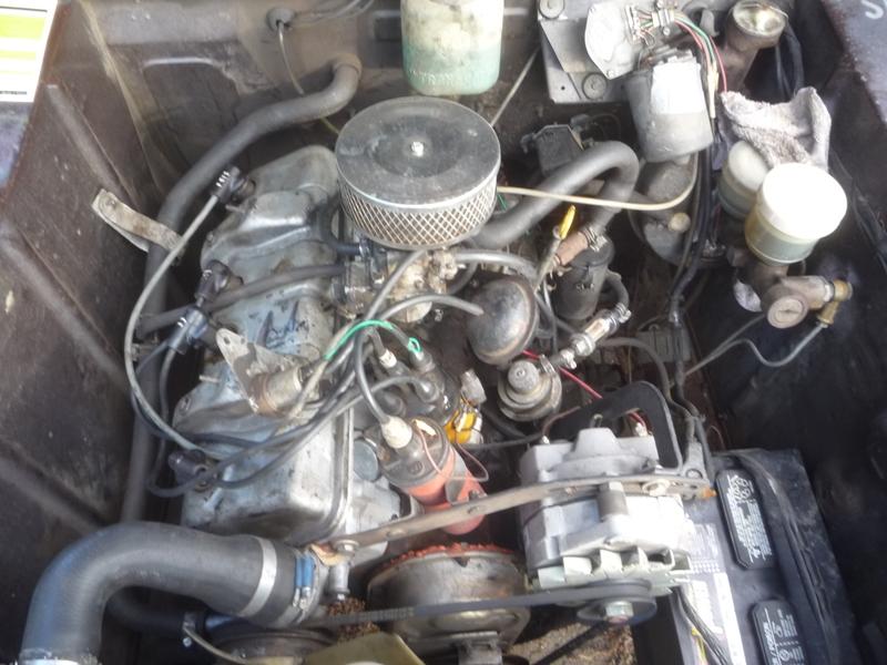 PEUGEOT 404 engine