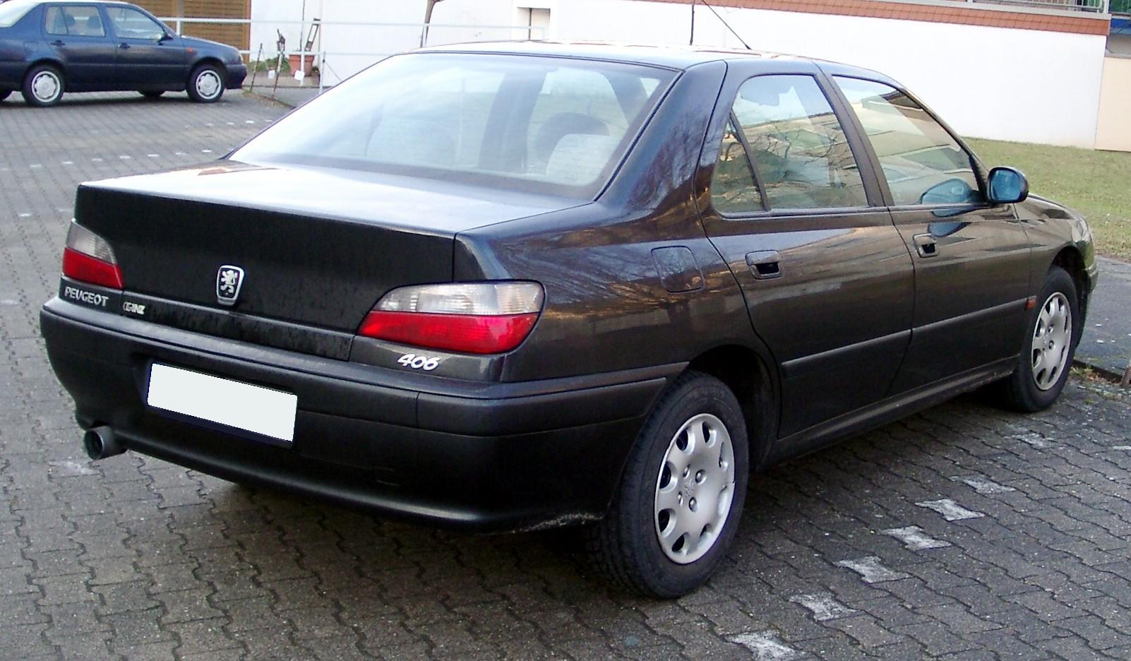 PEUGEOT 406 black