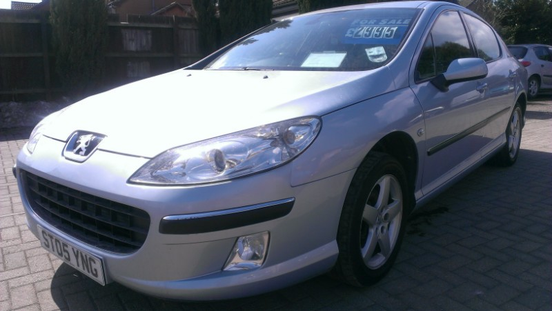 PEUGEOT 407 1.6 HDI 110 silver