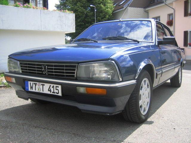 PEUGEOT 505 blue
