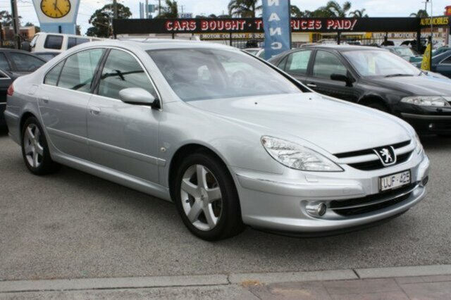 PEUGEOT 607 silver