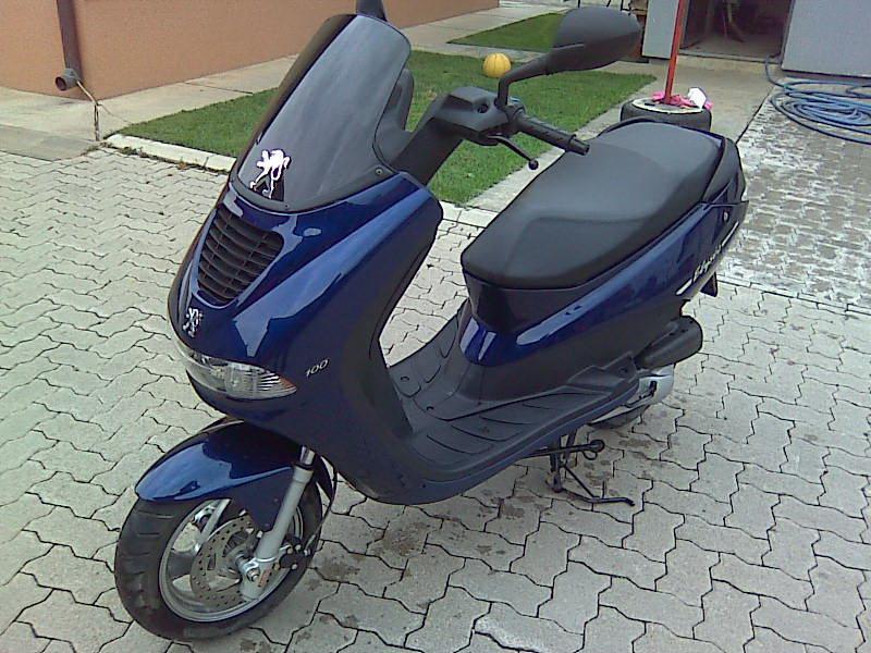 PEUGEOT ELYSEO blue