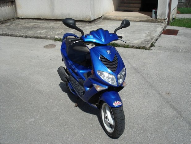 PEUGEOT SPEEDFIGHT 100 blue