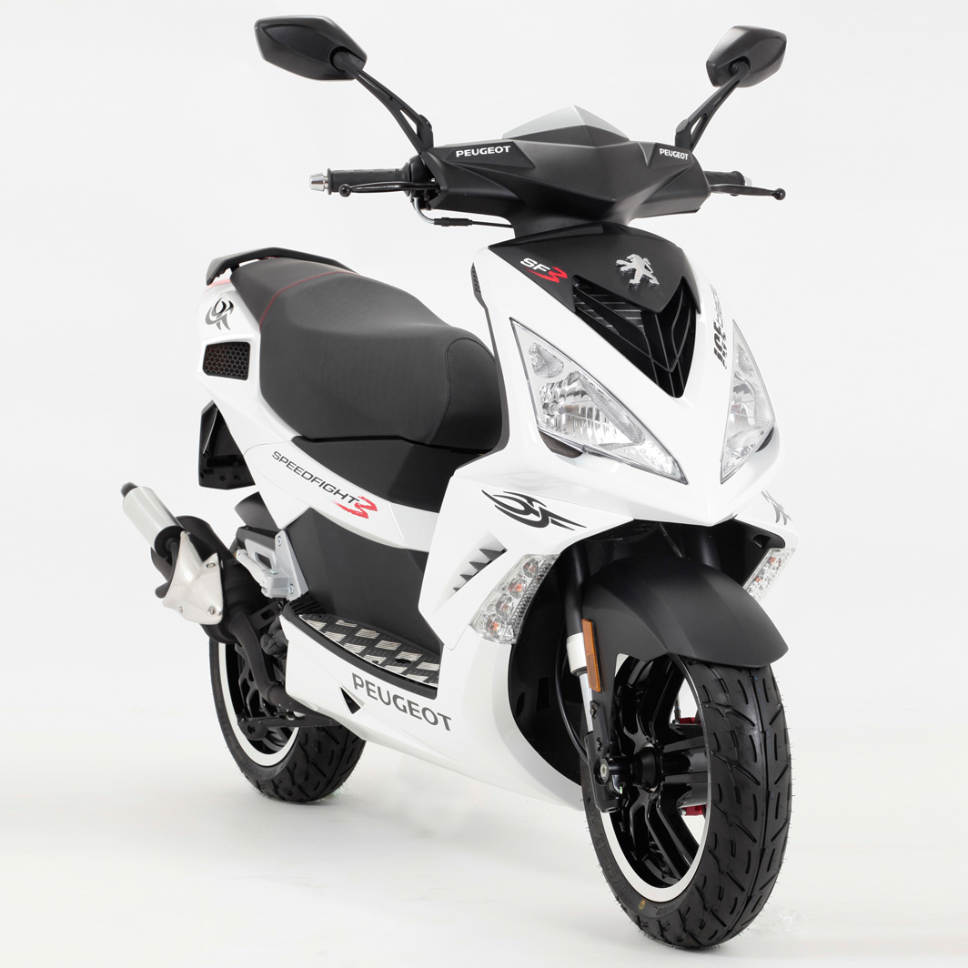 PEUGEOT SPEEDFIGHT 100 white