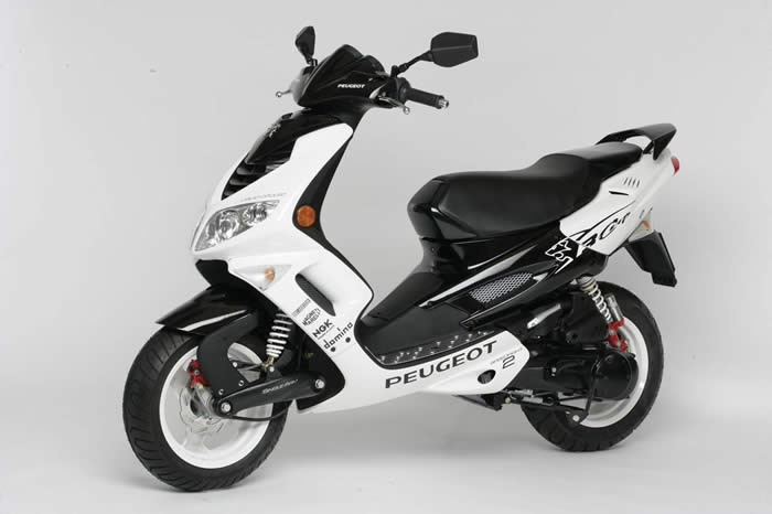 PEUGEOT SPEEDFIGHT black