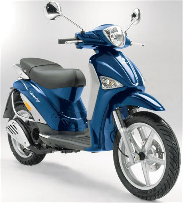 PIAGGIO LIBERTY 125 brown