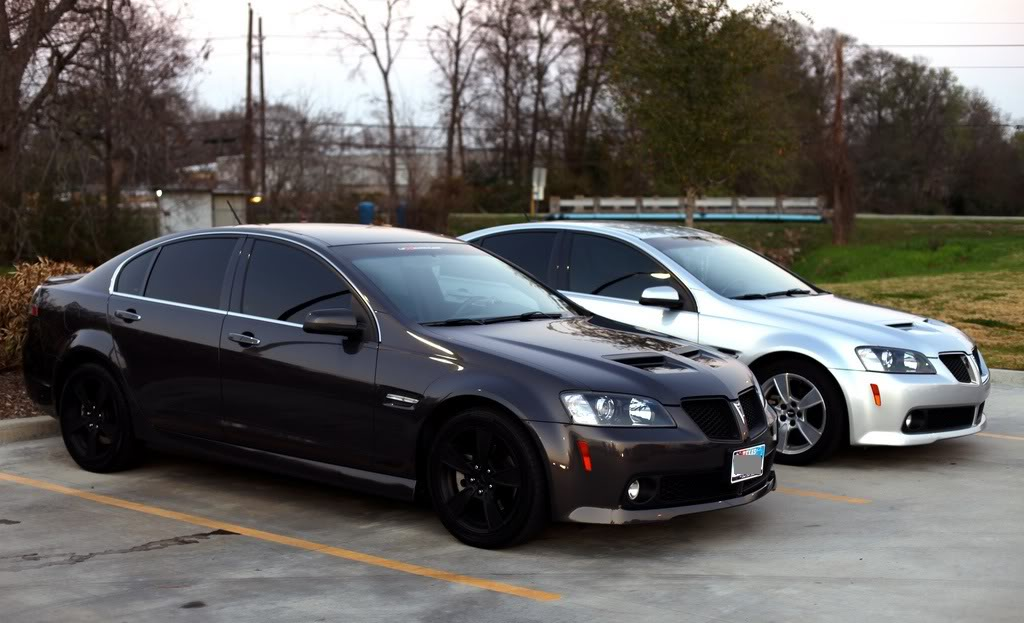 PONTIAC G8 - Review and photos