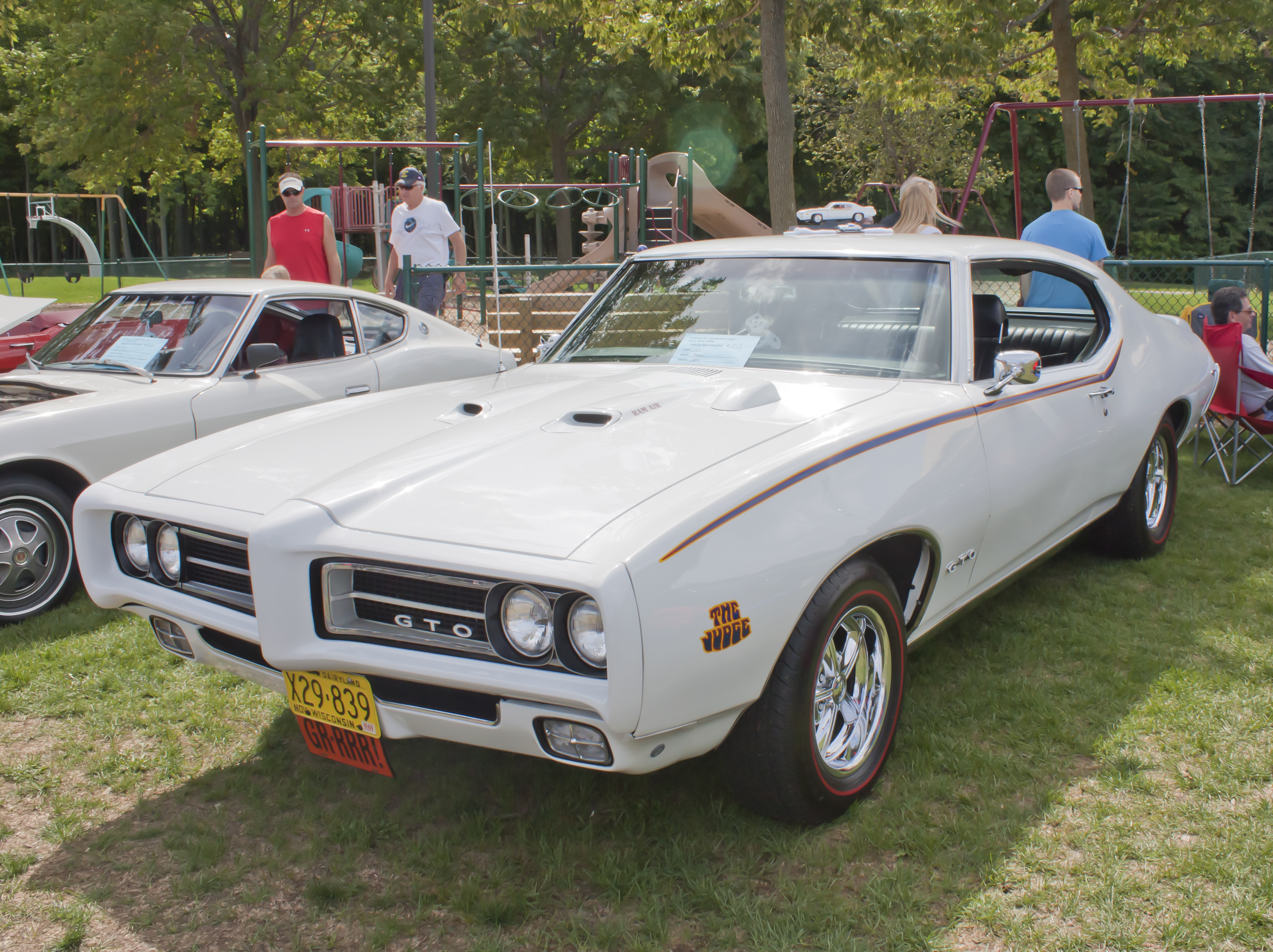 1969 PONTIAC GTO FRONT VIEW BY MYBAITSHOP