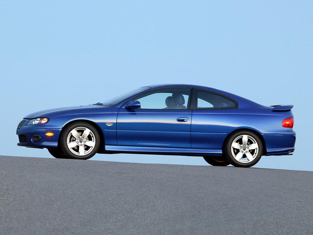 PONTIAC GTO blue