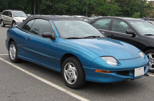 PONTIAC SUNFIRE brown
